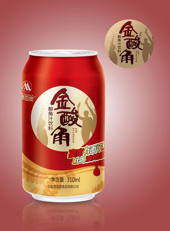 金酸角易拉罐310ml